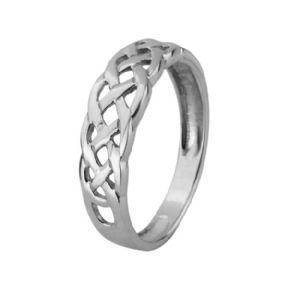 Celtic Knotwork Silver Ring 0752